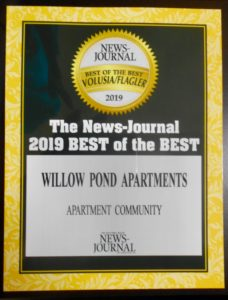 2019 Best of the Best Willow Pond Apartments