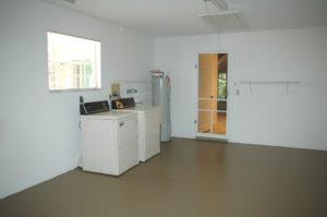 Garage / Laundry Room